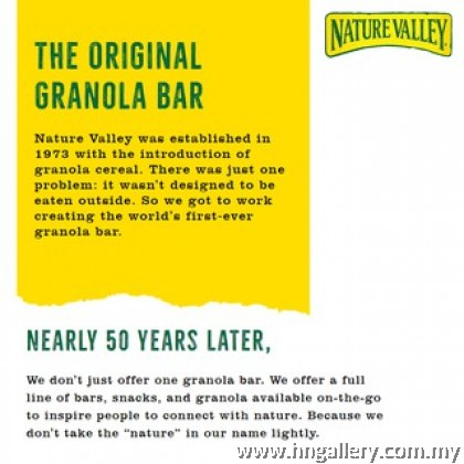 Nature Valley Crunchy - Oats & Apple 252gm