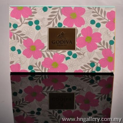 Godiva Summer Romance Chocolate Carre Gift Box 15pcs (Special Edition)