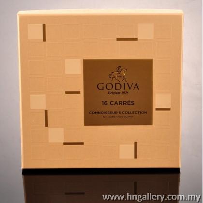 Godiva Milk Chocolate Carré Collection 16pcs