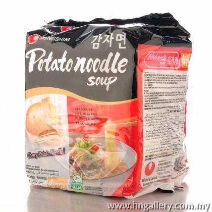 NongShim Ramyun (4 x 100g) - Potato (Made in Korea)