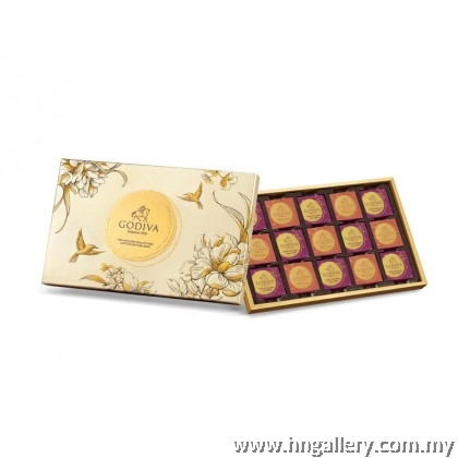 Godiva Mid Autumn Special Edition Chocolate Carre Gift Box 15pcs