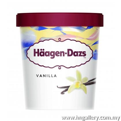 Ready Stock Haagen-Dazs Vanilla Mini Cup 81g/100ml (Klang Valley Only)