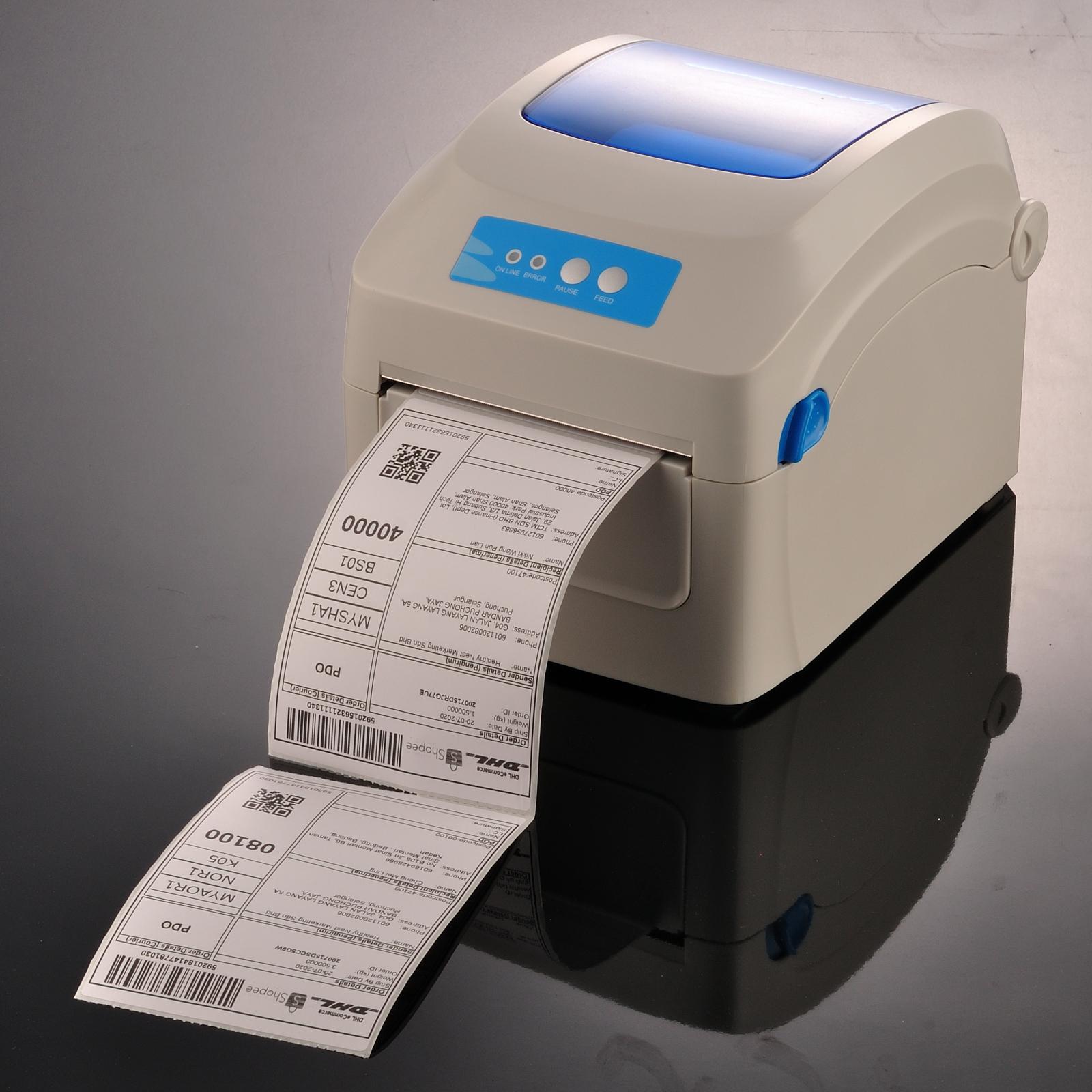 Ready Stock - A6 Thermal Paper Label Roll Sticker (100mm x 150mm x 350pcs)