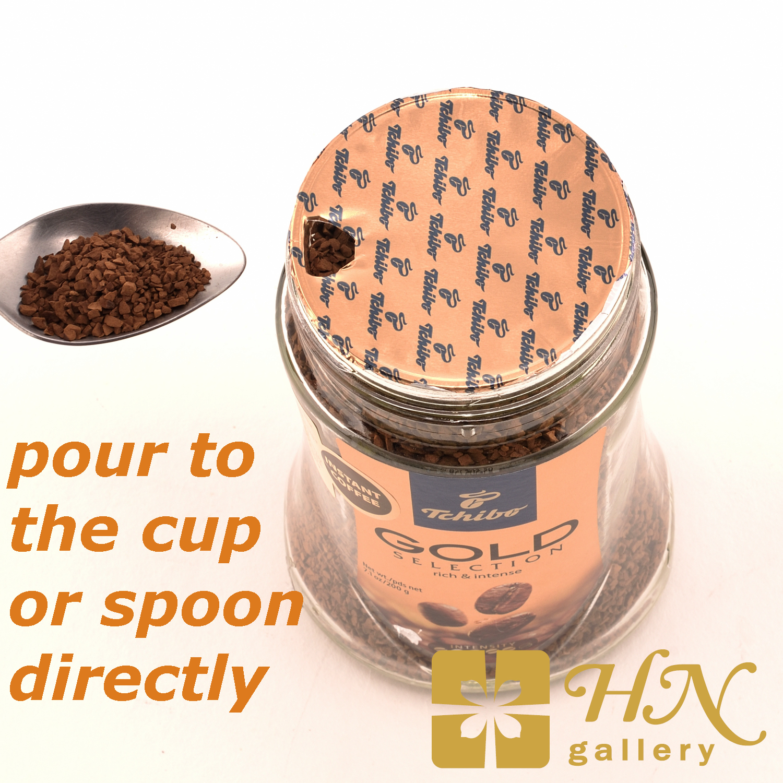Tchibo Gold Selection Premium Instant Coffee 100g
