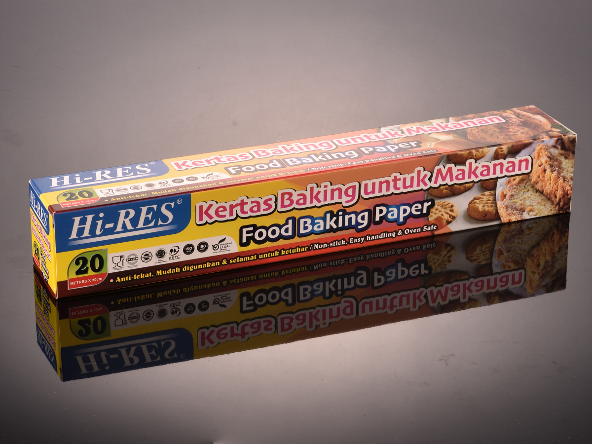 [HALAL] Baking Paper Non-Stick Microwave Oven Cook Tools ( Kertas Minyak ) Kertas Kek 20M