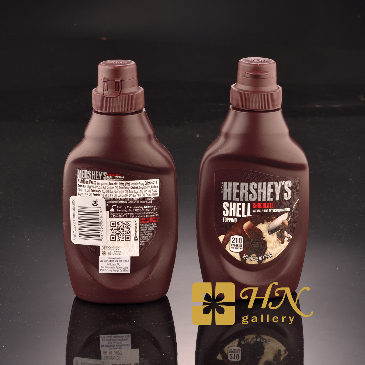 Hershey's Shell Topping Chocolate Syrup 205g
