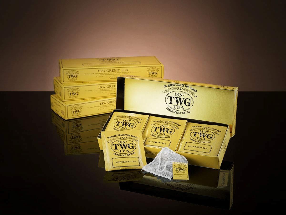 TWG 1837 Green Tea (15 x 2.5g Teabags)