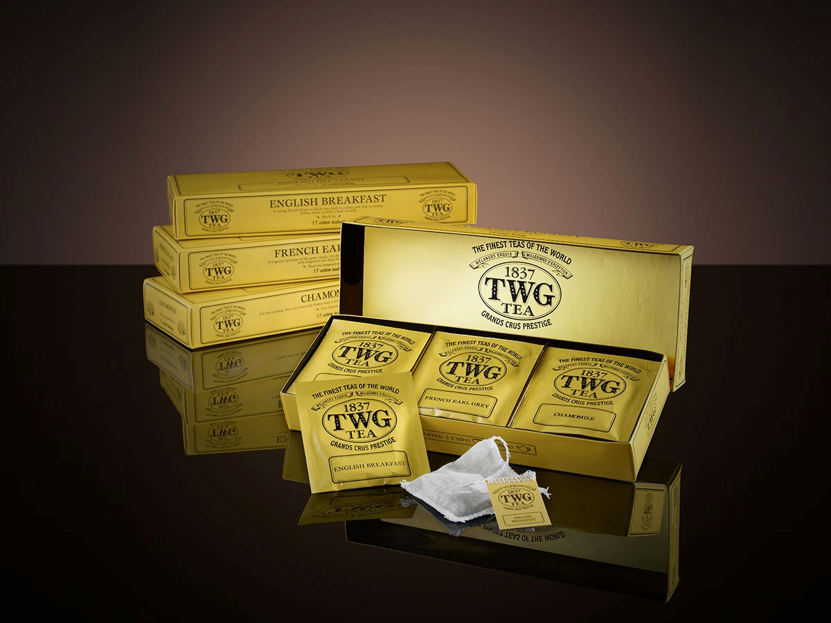 TWG Tea Classic Teabag Selection ( English Breakfast , French Earl Grey, Chamomile )