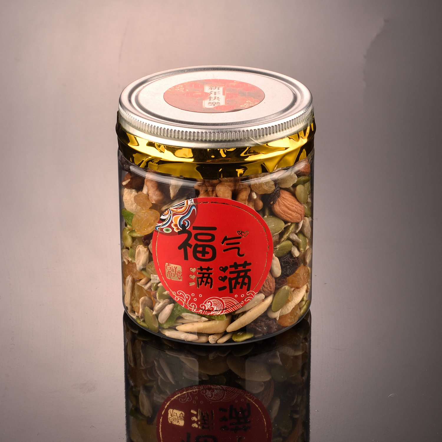 Mixed Dried Fruits & Nuts 什锦干果与坚果 Sell by per bottle (200g,350g)